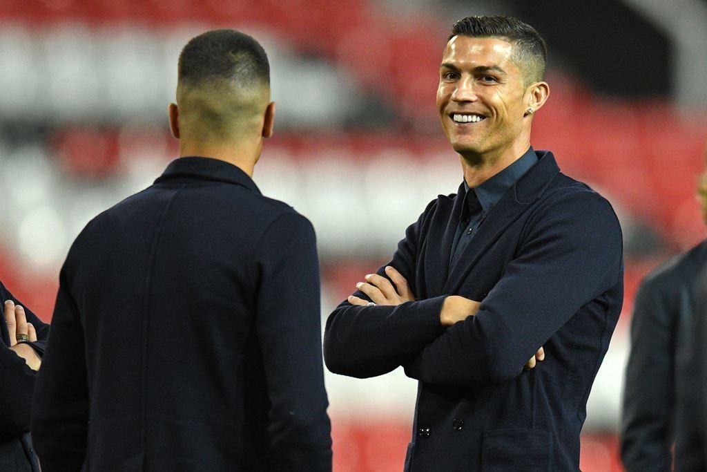 Cristiano Ronaldo (AFP/OLI SCARFF)