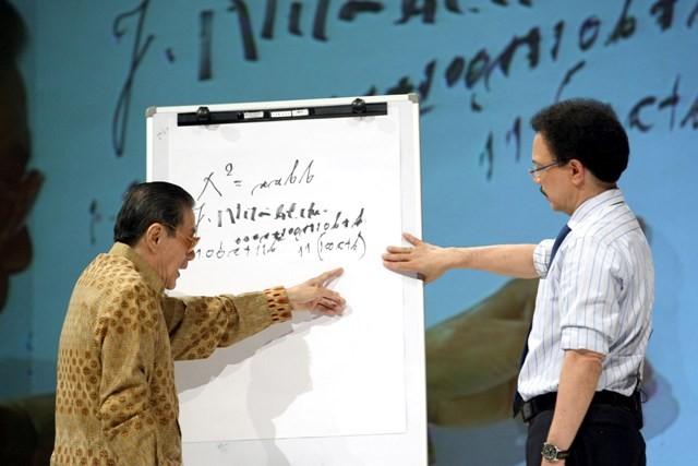 Program Kick Andy edisi guru. Foto: Susanto/MI
