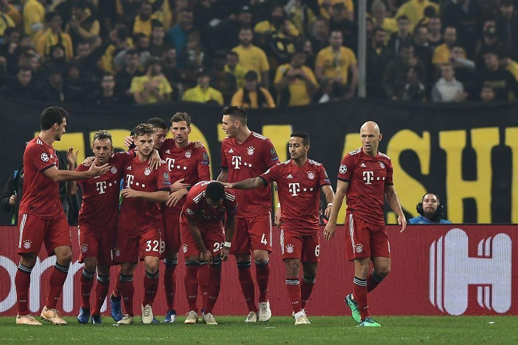 Skuat Bayern Muenchen (AFP/ARIS MESSINIS )