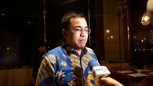 Sekretaris Urusan Ekonomi, Kedutaan Besar Indonesia untuk Singapura, Reza Adenan. Foto: Faisal Abdalla/Medcom.id