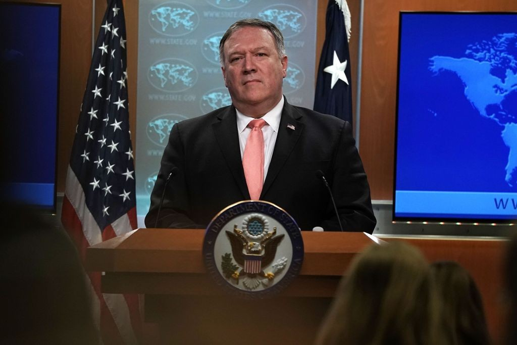Menlu AS Mike Pompeo. (Foto: AFP)