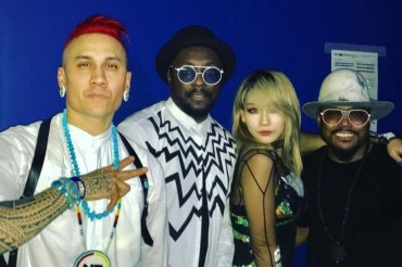 CL dan Black Eyed Peas Berkolaborasi