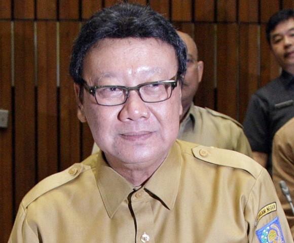 Menteri Dalam Negeri (Mendagri) Tjahjo Kumolo--MI/Susanto