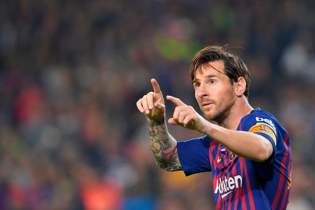 Lionel Messi. (Foto: AFP/Lluis Gene)