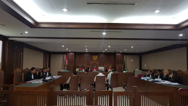 Suasana sidang di Tipikor Jakarta. Foto: Medcom.id/Damar Iradat.