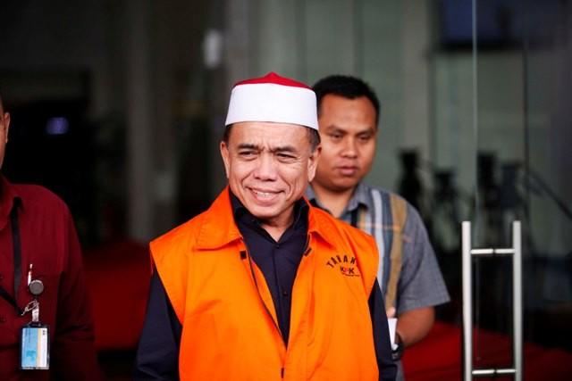 Gubernur nonaktif Aceh Irwandi Yusuf/MI/Rommy Pujianto