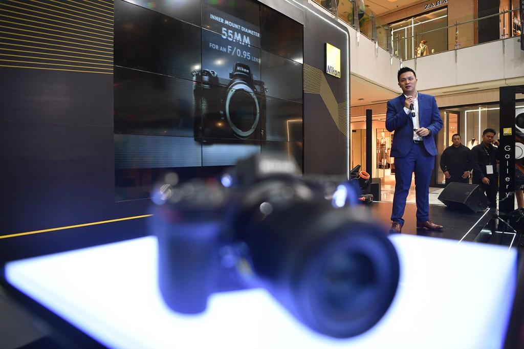 Nikon Kenalkan Kamera Mirrorless Full-Frame ke Indonesia