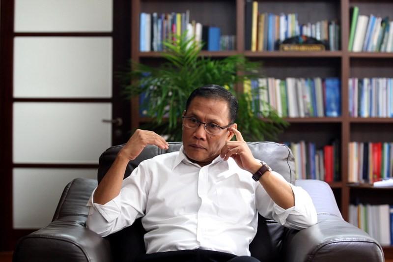 Kepala BPS Suhariyanto. MI/ADAM DWI.