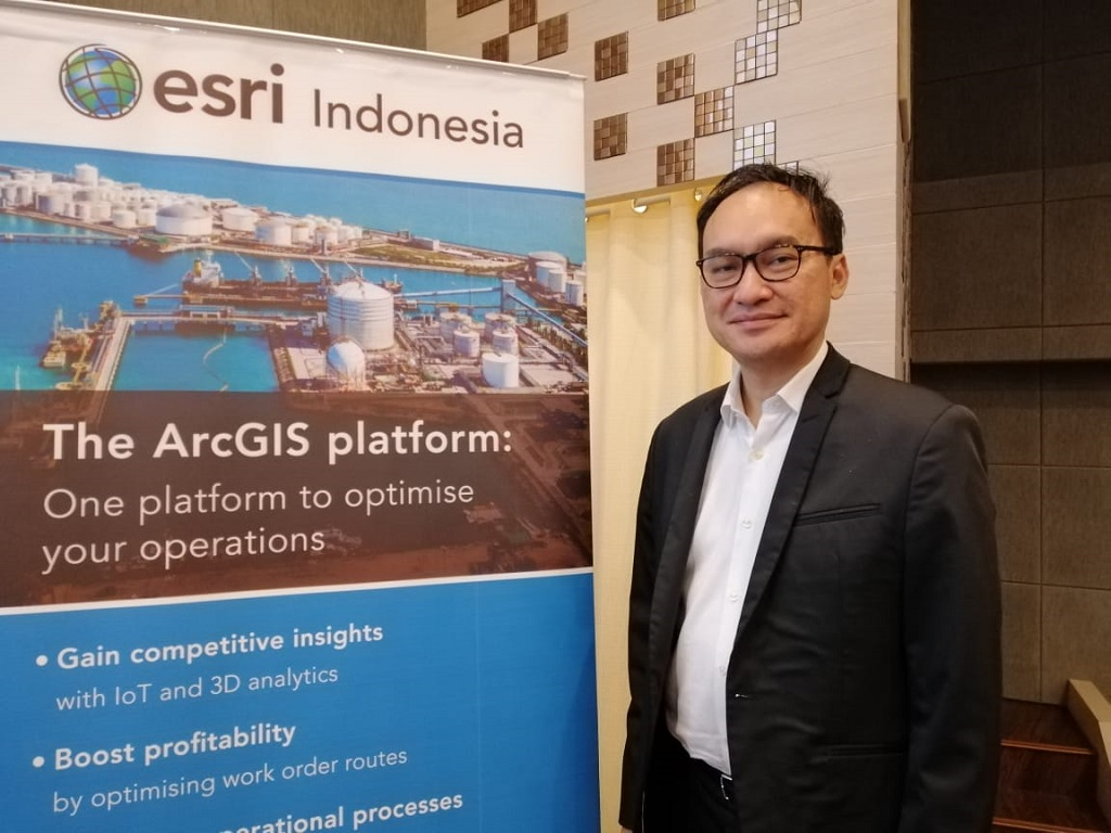 CEO ESRI Indonesia, Achmad Istamar.