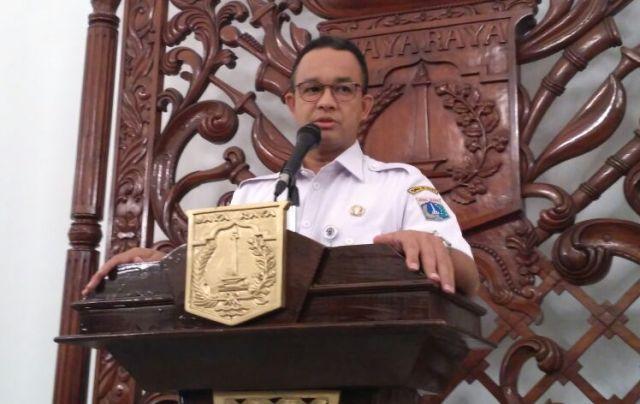 Gubernur DKI Jakarta Anies Baswedan. Medcom.id/Nur Azizah
