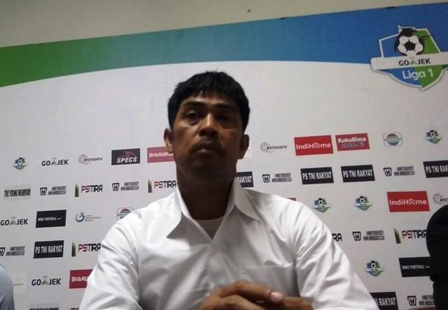 Pelatih PS Tira Nil Maizar-Medcom.id/Ahmad Mustaqim