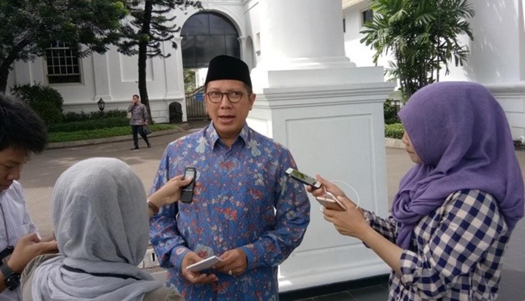 Menag Lukman Hakim Saifuddin. Foto: Medcom.id/Achmad Zulfikar Fazli.