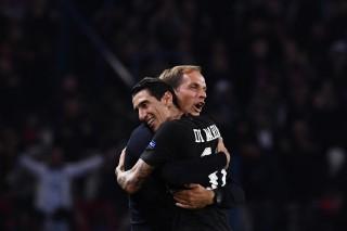 Di Maria Selamatkan PSG dari Kekalahan atas Napoli