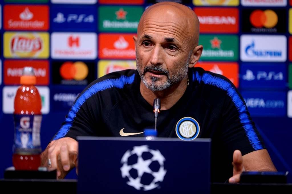 Pelatih Inter Milan, Luciano Spalletti (AFP/Josep Lago)