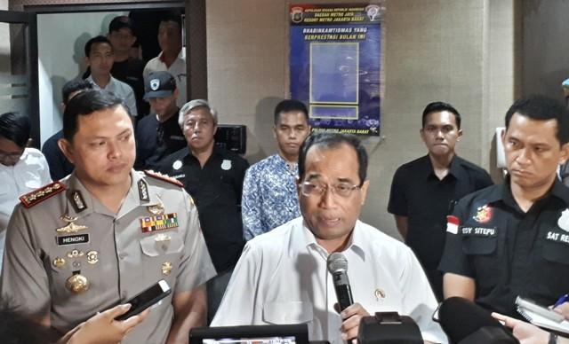 Menteri Perhubungan Budi Karya Sumadi. Foto: Medcom.id/Faisal Abdalla.