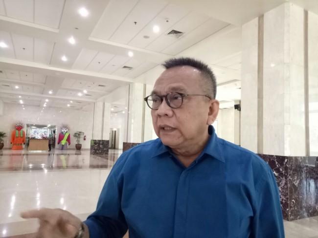 Wakil Ketua DPRD DKI M Taufik. Foto: Medcom.id/Intan Yunelia