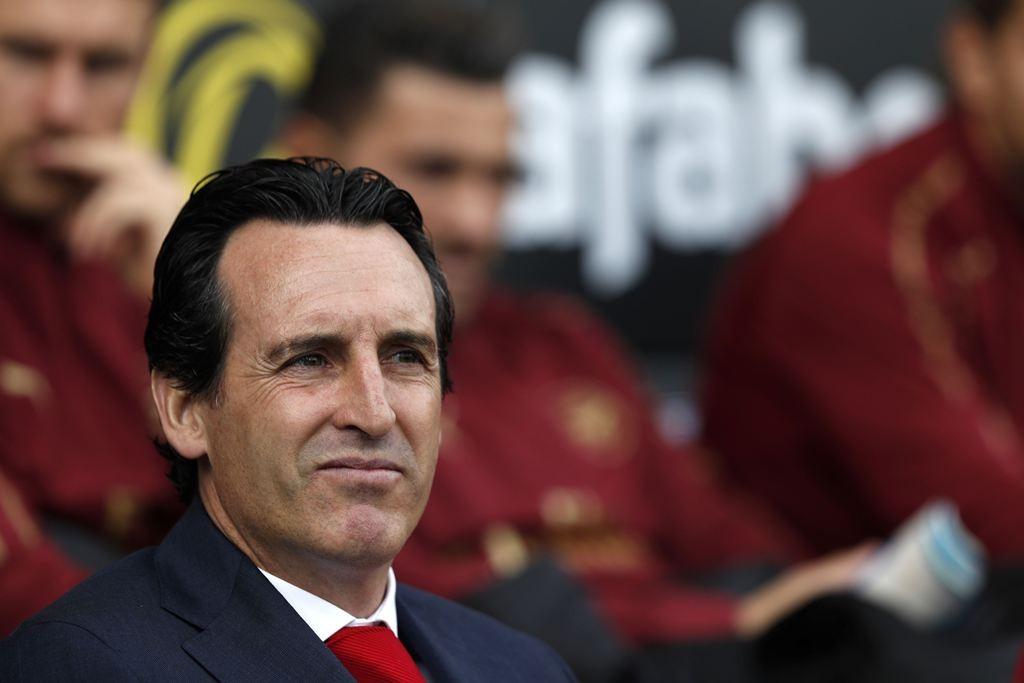 Manajer Arsenal, Unai Emery (AFP/Adrian Dennis)