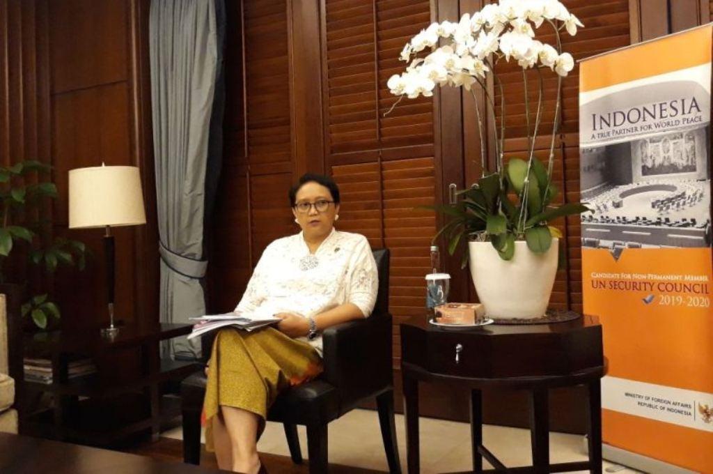 Menteri Luar Negeri Retno Marsudi. (Foto: Marcheila Ariesta/Medcom.id).