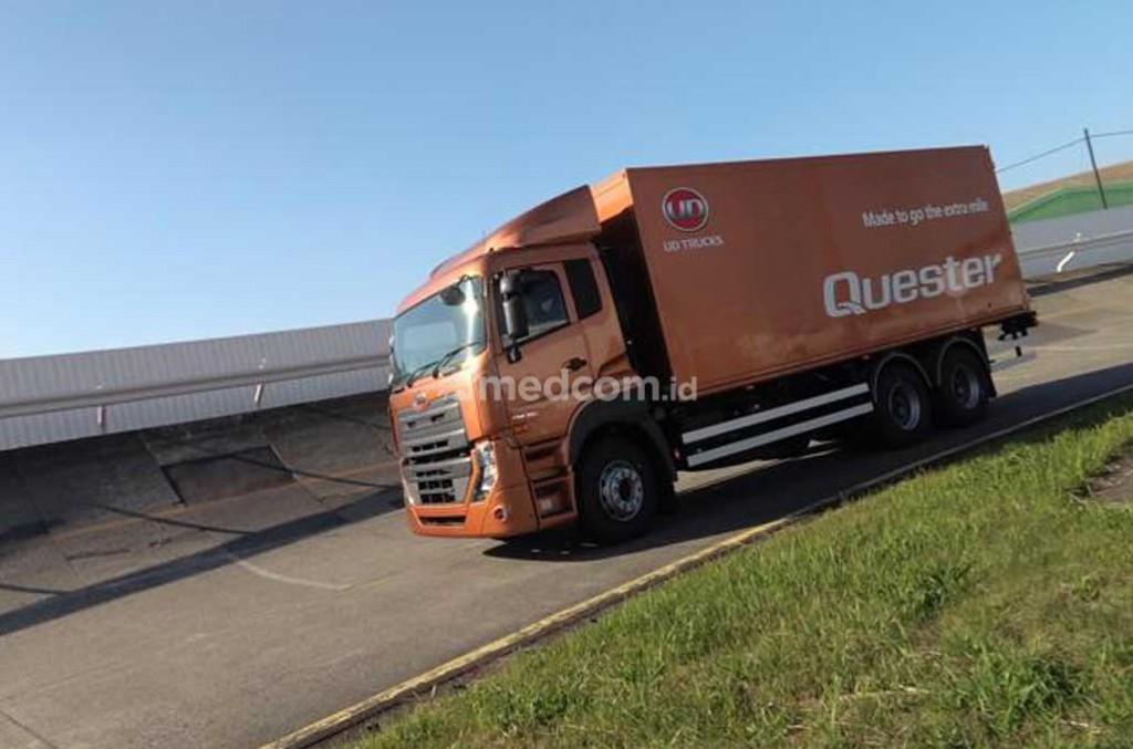 UD Trucks Extra Mile Challenge, misi utamanya adalah efisiensi biaya dan keselamatan berkendara. medcom.id/Ahmad Garuda