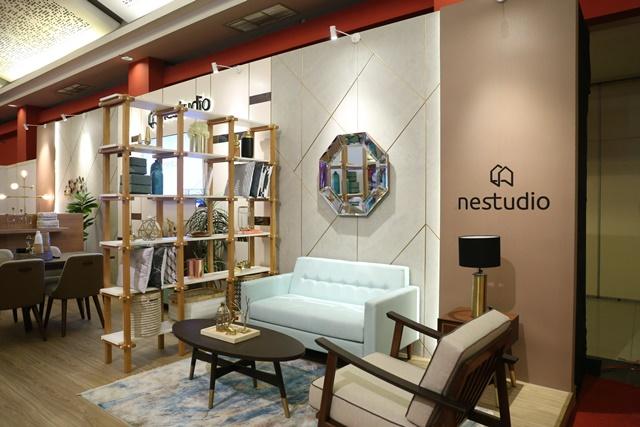 """Nestudio menghadirkan koleksi pertamanya """"Turquoise Cream"""" yang memiliki detail desain elegan. (Foto: Dok. Megapro Communications)"""