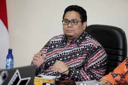 Anggota Bawaslu Rahmat Bagja - MI/Rommy Pujianto.