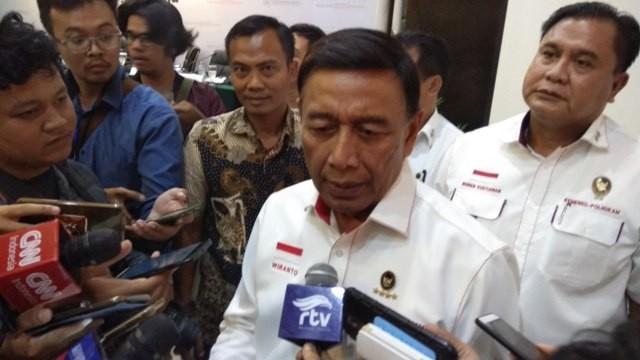 Menko Polhukam Wiranto/Medcom.id/Fachri Audhia Hafiez