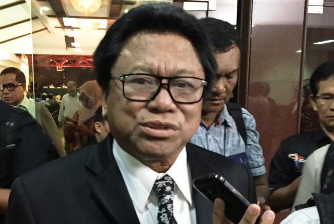 Ketua Dewan Perwakilan Daerah DPD Oesman Sapta Odang--Medcom.id/Gervin