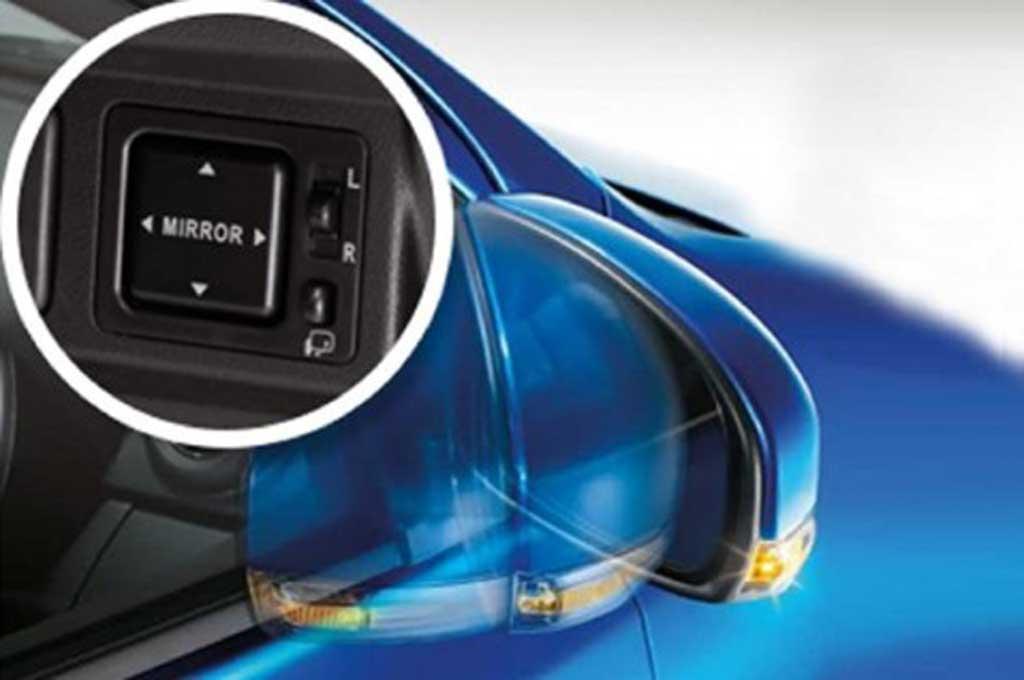 Perlakukan spion elektrik rectractable dengan benar agar lebih awet. Daihatsu