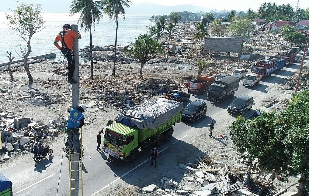 Melalui program PLN Peduli (CSR PLN), PLN memberikan total bantuan Rp4,518 miliar yang didistribusikan ke berbagai daerah di Palu, Donggala, Sigi, dan Parigi (Foto:Dok.PLN)