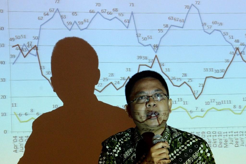 Pengamat politik sekaligus Direktur Eksekutif Indikator Politik Indonesia Burhanuddin Muhtadi. (Foto: MI/Susanto)