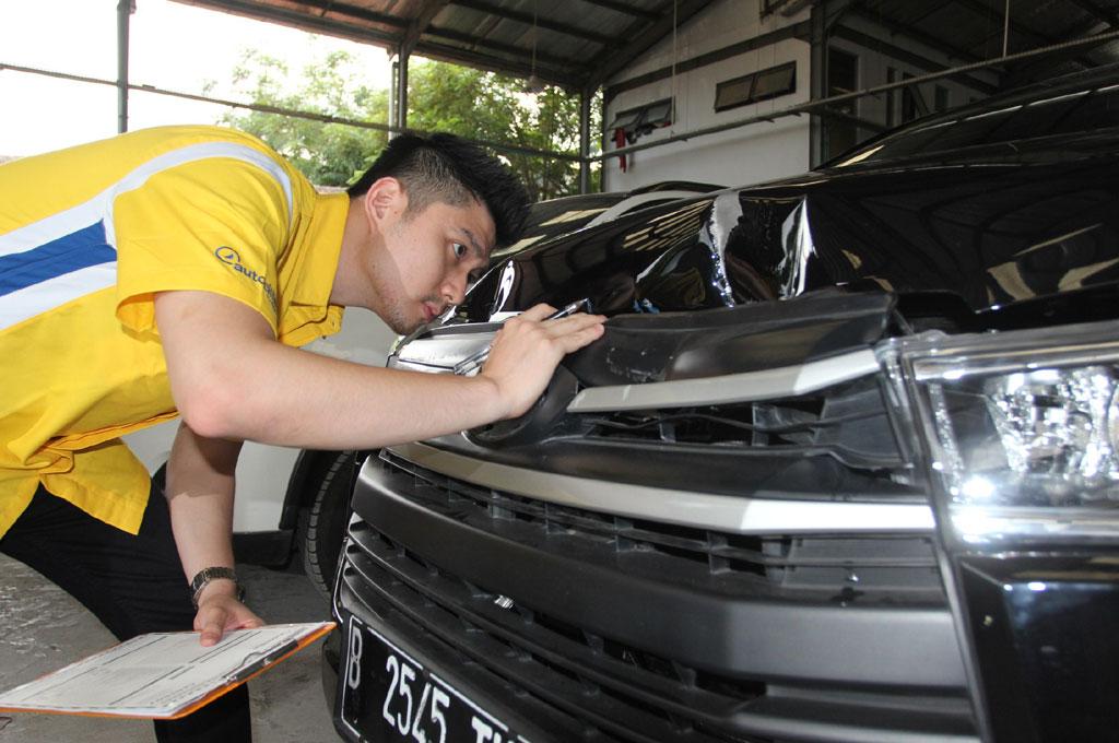 Autocillin Garage memiliki standarisasi pelayanan sesuai asuransi. Adira Insurance