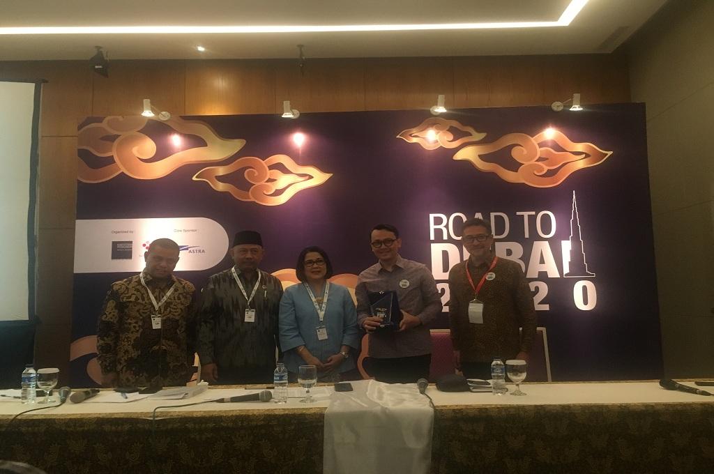 Konferensi pers Kemendag di acara Road to Dubai 2020 di ICE BSD, Tangerang Selatan, Kamis, 25 Oktober 2018, Medcom.id - Farhan Dwi