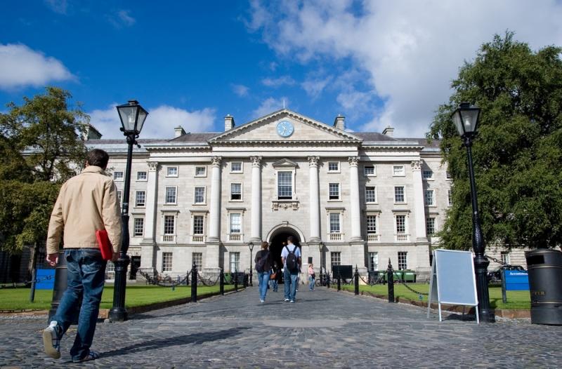 Trinity College di Dublin, Irlandia. (Foto:Shutterstock)