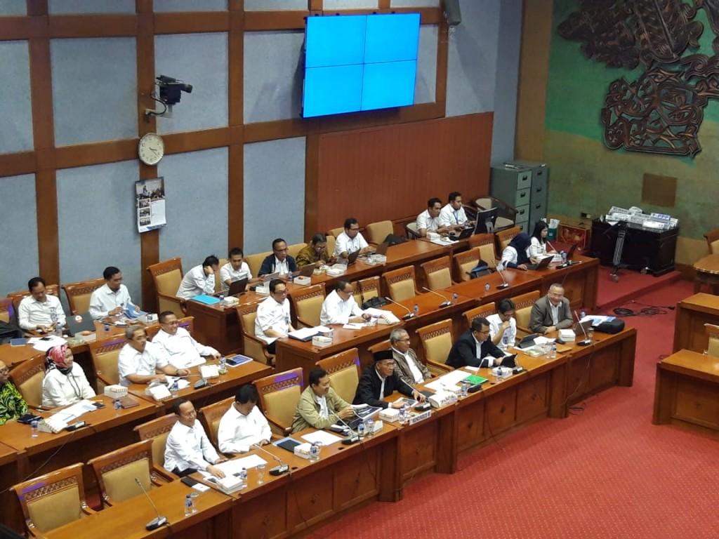 Suasana raker antara Mendikbud dengan Komisi X DPR RI, Medcom.id/Intan Yunelia.