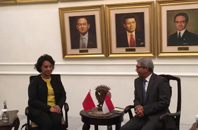 Indonesia and Morocco want to promote bilateral trade. (Photo: Sonya Michaella/Medcom.id).