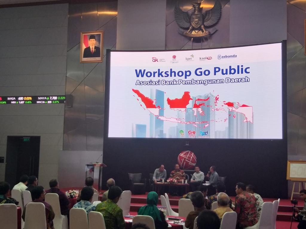 Suasana Workshop Go Public bagi BPD. (FOTO: Medcom.id/Eko Nordiansyah)