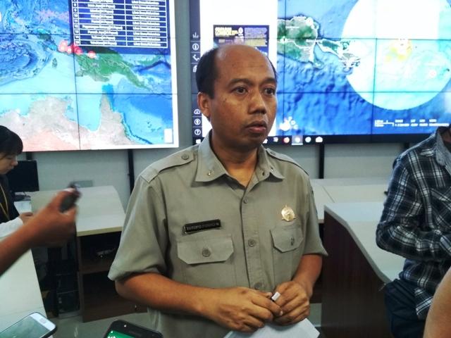 Kepala Pusat Data Informasi dan Humas Badan Nasional Penanggulangan Bencana (BNPB), Sutopo Purwo Nugroho. Foto: Medcom.id/Deny Irwanto.