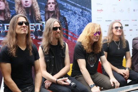 Kunci Megadeth Bertahan Selama 35 Tahun
