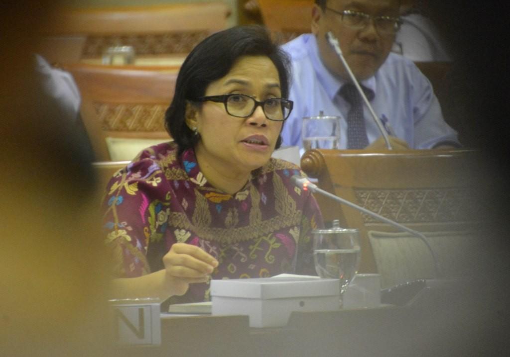 Menteri Keuangan Sri Mulyani. (FOTO: MI/Irfan)