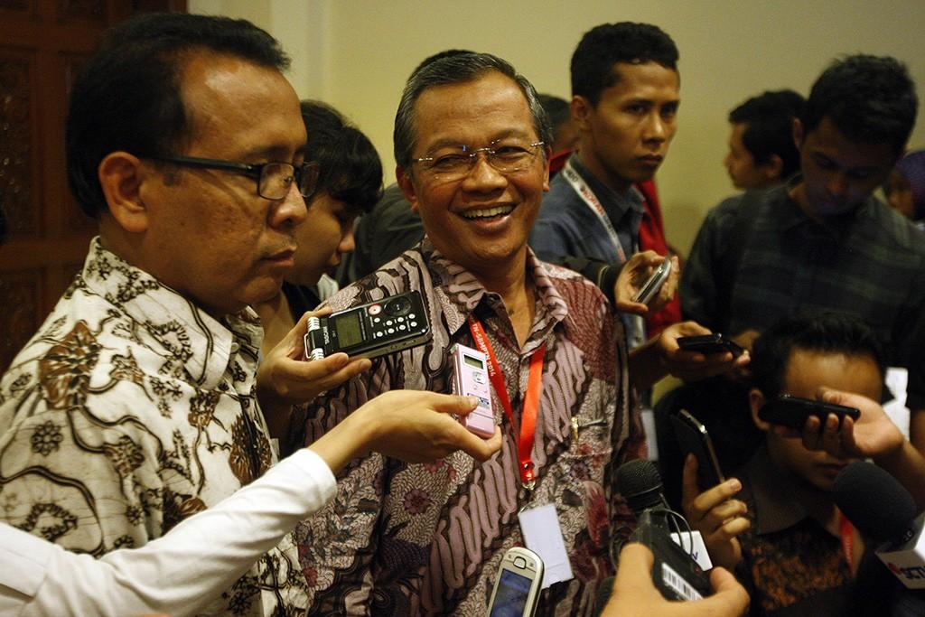 Rektor Universitas Sebelas Maret (UNS) Surakarta, Ravik Karsidi, di sebuah kesempatan, MI/Rommy Pujianto.