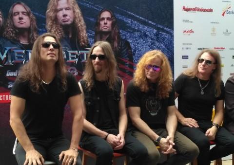 Bocoran Lagu Megadeth di Jogjarockarta 2018
