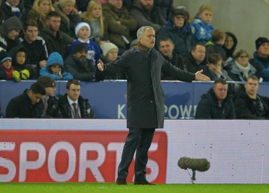 Pelatih Manchester United Jose Mourinho (Foto: AFP)