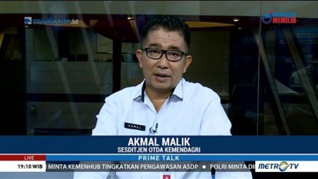 Sekretaris Ditjen Otonomi Daerah Kemendagri, Akmal Malik.