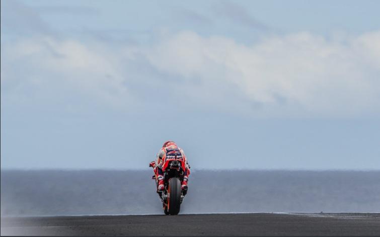 Pembalap Repsol Honda Marc Marquez (Foto: marcmarquez99)