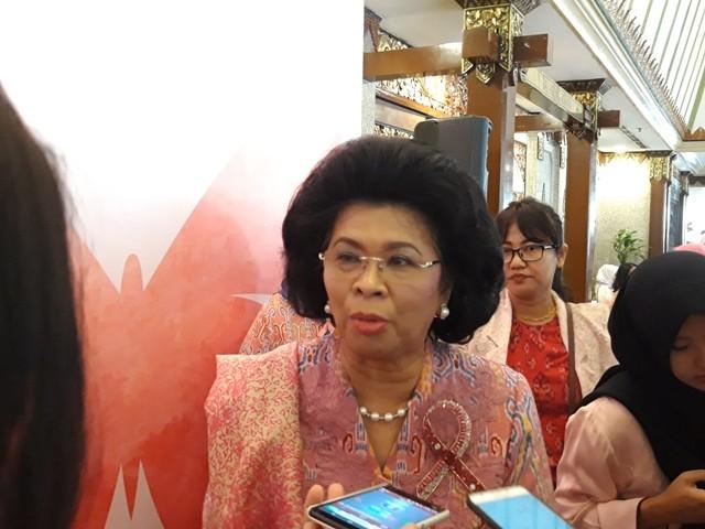 Yayasan Kanker Payudara Indonesia LInda Gumilar. Foto Medcom.id Intan Yunelia.