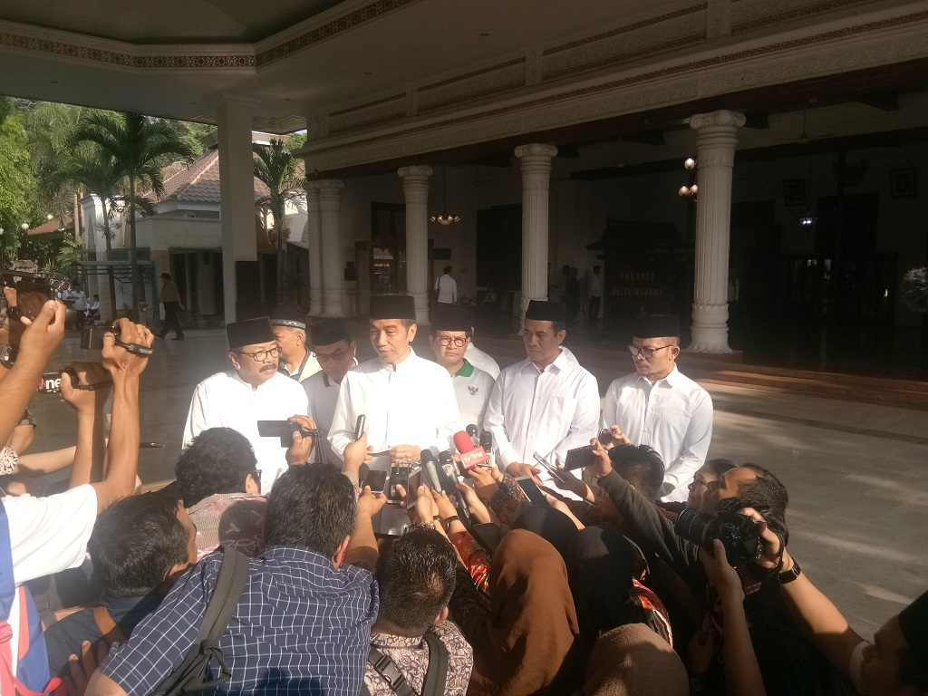 Presiden Joko Widodo - Medcom.id/Achmad Zulfikar Fazli.