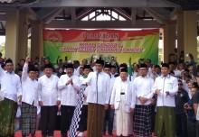 Presiden Berangkatkan Kirab Santri di Pendopo Sidoarjo