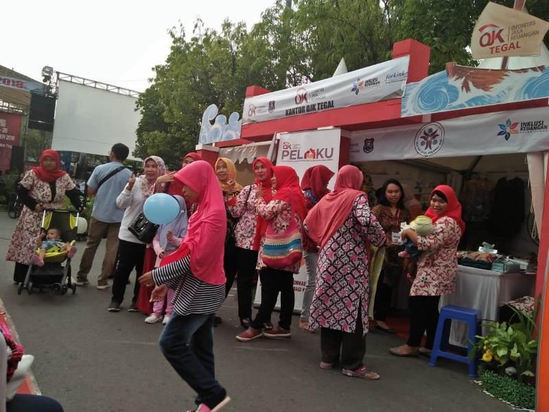 Festival Keuangan tahun 2018 di alun-alun Kota Tegal, Jawa Tengah, 27-28 Oktober 2018. (Medcom.id/Kuntoro Tayubi).