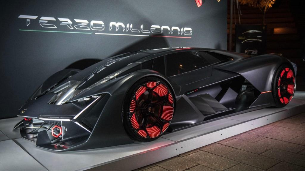Lamborghini Terzo Millennio. (Lamborghini)
