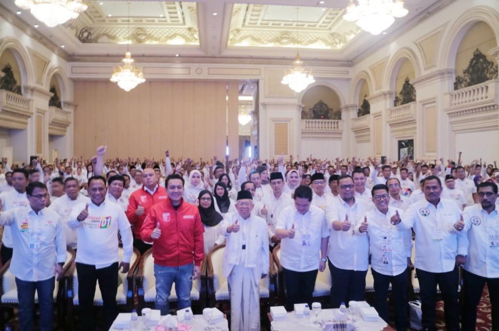 Calon Wakil Presiden nomor urut 01 Ma'ruf Amin - foto: TKN KIK.